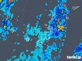 2018年08月16日の沖縄県の雨雲レーダー