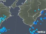 2018年08月20日の和歌山県の雨雲の動き