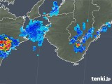 2018年08月24日の和歌山県の雨雲の動き