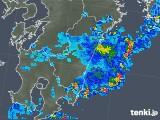 2018年08月24日の宮崎県の雨雲の動き
