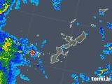 2018年08月25日の沖縄県の雨雲レーダー