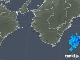 2018年08月27日の和歌山県の雨雲の動き