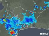 2018年08月28日の愛知県の雨雲の動き