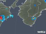 2018年08月28日の和歌山県の雨雲の動き
