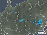 2018年08月29日の長野県の雨雲レーダー
