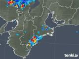 2018年08月29日の三重県の雨雲レーダー