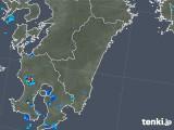 2018年08月29日の宮崎県の雨雲の動き