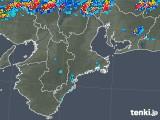 2018年08月31日の三重県の雨雲レーダー