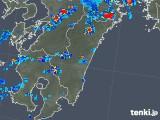 2018年08月31日の宮崎県の雨雲の動き