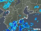 2018年09月06日の三重県の雨雲レーダー