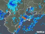 2018年09月08日の三重県の雨雲レーダー