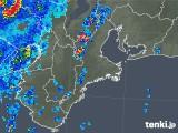 2018年09月09日の三重県の雨雲レーダー