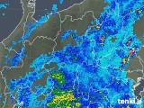 2018年09月10日の長野県の雨雲レーダー