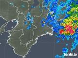 2018年09月10日の三重県の雨雲レーダー