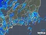 2018年09月30日の関東・甲信地方の雨雲の動き