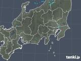 2018年10月02日の関東・甲信地方の雨雲の動き