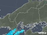 2018年10月02日の広島県の雨雲の動き