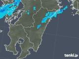 2018年10月02日の宮崎県の雨雲の動き
