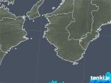 2018年10月03日の和歌山県の雨雲の動き