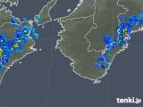 2018年10月05日の和歌山県の雨雲の動き