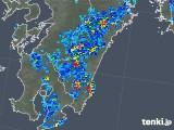2018年10月05日の宮崎県の雨雲の動き