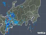 2018年10月06日の関東・甲信地方の雨雲の動き