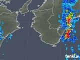 2018年10月06日の和歌山県の雨雲の動き