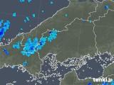2018年10月06日の広島県の雨雲の動き