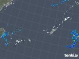 2018年10月10日の沖縄地方の雨雲レーダー