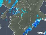 2018年10月11日の奈良県の雨雲レーダー