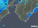 2018年10月11日の和歌山県の雨雲の動き
