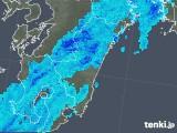 2018年10月11日の宮崎県の雨雲の動き