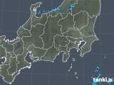 2018年10月12日の関東・甲信地方の雨雲の動き
