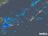 2018年10月14日の沖縄地方の雨雲レーダー