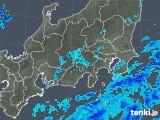 2018年10月15日の関東・甲信地方の雨雲の動き