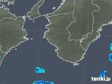 2018年10月15日の和歌山県の雨雲の動き
