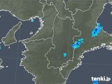 2018年10月18日の奈良県の雨雲レーダー