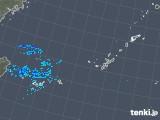 2018年10月19日の沖縄地方の雨雲レーダー