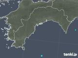 2018年10月22日の高知県の雨雲の動き