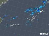 2018年10月23日の沖縄地方の雨雲レーダー