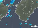 2018年10月26日の和歌山県の雨雲の動き
