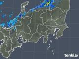 2018年10月30日の関東・甲信地方の雨雲の動き