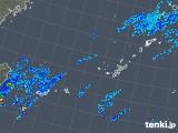 2018年10月31日の沖縄地方の雨雲レーダー