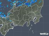 2018年10月31日の関東・甲信地方の雨雲の動き