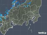 2018年11月01日の関東・甲信地方の雨雲の動き