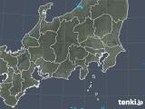 2018年11月02日の関東・甲信地方の雨雲の動き