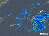 2018年11月03日の沖縄地方の雨雲レーダー