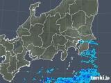 2018年11月03日の関東・甲信地方の雨雲の動き