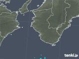 2018年11月05日の和歌山県の雨雲の動き