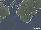 2018年11月06日の和歌山県の雨雲の動き